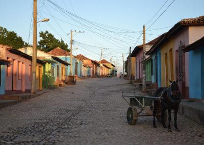 Calle Amargura, Calle St. Ana,Trinidad - Diario di viaggio a Cuba