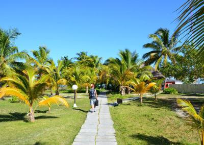 Ingresso isola in prossimità dell'unico albergo - Hotel Cayo Levisa - Diario di viaggio a Cuba