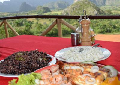 Restaurante Balcon della Valle, Vinales - Diario di viaggio a Cuba