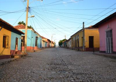 Calle Amargura, Calle-Sta. Ana, Trinidad - Diario di viaggio a Cuba