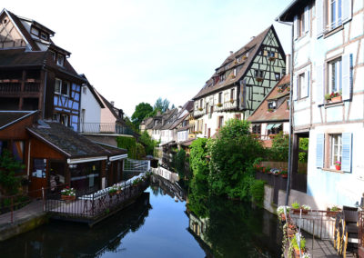 Petite Venise, Rue Turenne, Colmar - Diario di viaggio in Alsazia