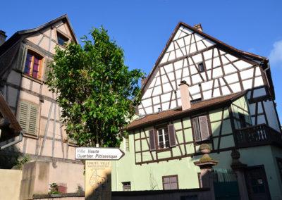 Dopo la porta della- orre, Ribeauvillè - Diario di viaggio in Alsazia