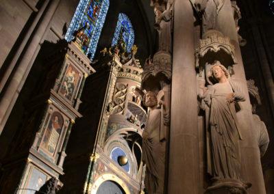 Pilastro degli Angeli, Cattedrale di Strasburgo -Diario di viaggio in Alsazia