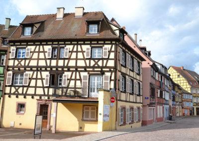 Quai de la Poissonnerie, Colmar - Diario di viaggio in Alsazia