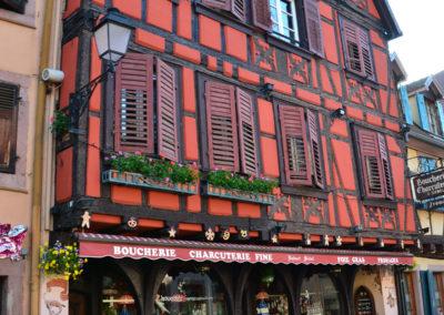 Boucherie Charcuterie, Grand Rue, Ribeauvillè - Diario di viaggio in Alsazia