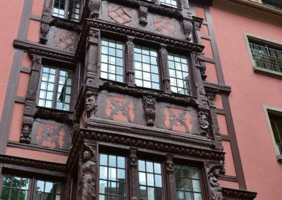 Place de la Cathedrale, Strasburgo -Diario di viaggio in Alsazia