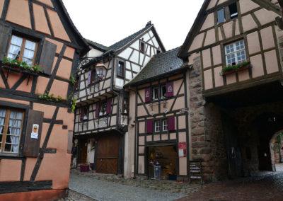 -Porta alta interno, Riquewirh - Diario di viaggio in Alsazia