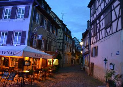 Rue de la Possonnierr, Colmar - Diario di vaiggio in Alsazia