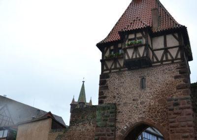 Tour Haute, Riquewirh - Diario di viaggio in Alsazia