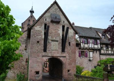 Porta Alta esterno, Riquewirh - Diario di viaggio in Alsazia