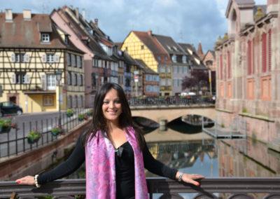 Quai de la Poissonnerie da Rue de Tannieurs, Colmar - Diario di viaggio in Alsazia
