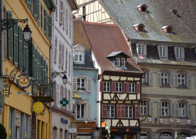 Maisons, Colmar - Diario di viaggio in Alsazia