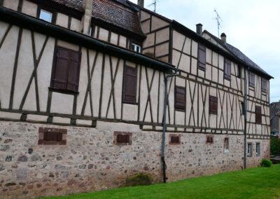 Mura esterne, Riquewirh - Diario di viaggio in Alsazia