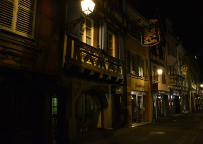 Colmar di notte - Diario di vaiggio in Alsazia