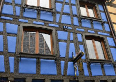 Maison à colombages, Riquewirh - Diario di viaggio in Alsazia
