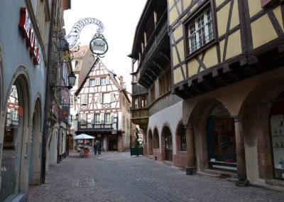 Rue Mercerie, Colmar - Diario di viaggio in Alsazia