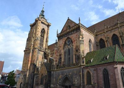 -Eglise-St.-Martin-(Collegiata-di-San-Martino),-Place-de-la-Cathedral,-Colmar