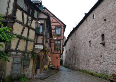 -Rue des Casernes, Riquewirh - Diario di viaggio in Alsazia