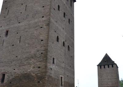 Rue des Molines con i Ponts Couverts Grande Ile, Strasburgo -Diario di viaggio in Alsazia