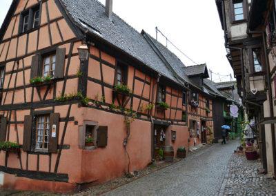 Rue dite Sebastopol, Riquewirh - Diario di viaggio in Alsazia