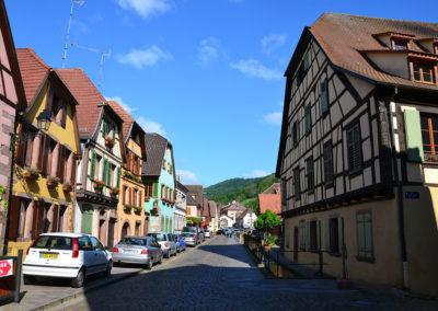 Grand Rue, Ribeauville - Diario di viaggio in Alsazia