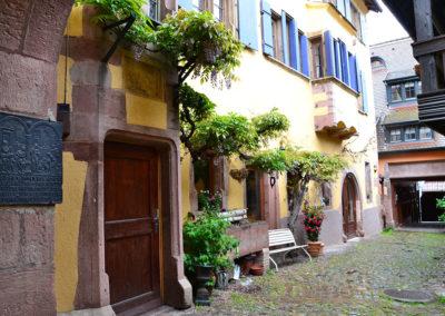 Hotel La Corunne, Riquewirh - Diario di viaggio in Alsazia