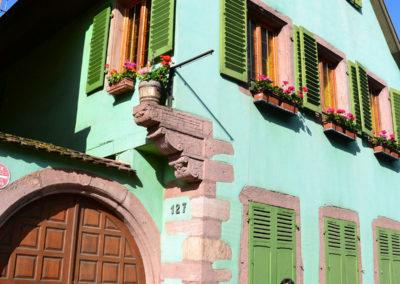 -Maison su Grand Rue, Ribeauvillè - Diario di viaggio in Alsazia