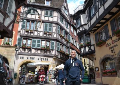 Rue des Marchands, Colmar - Diario di viaggio in Alsazia