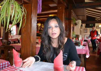Interni Restaurant Au Pont San Martin, Petite France, Strasburgo -Diario di viaggio in Alsazia
