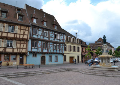 Place de Six Montagnes Noires, Colmar - Diario di viaggio in Alsazia