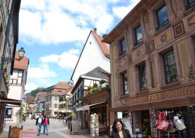 -Grand Rue, Ribeauvillè - Diario di viaggio in Alsazia
