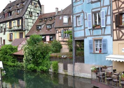 Petite Venise, La Lauch, Colmar - Diario di viaggio in Alsazia