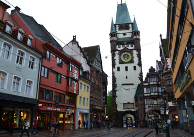 Porta Martinstor. Friburgo in Brisgovia -Diario di viaggio in Alsazia
