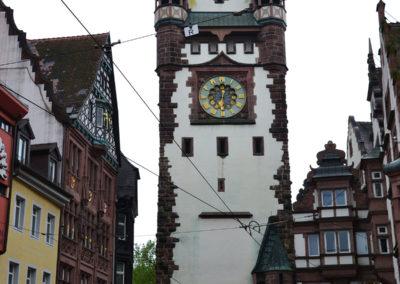 Martinstor. Friburgo in Brisgovia -Diario di viaggio in Alsazia