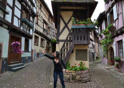 -Pigeonnier. Eguisheim - Diario di viaggio in Alsazia