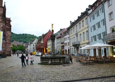 Munsterplatz, Friburgo in Brisgovia -Diario di viaggio in Alsazia