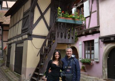 Pigeonnier, Eguisheim - Diario di viaggio in Alsazia