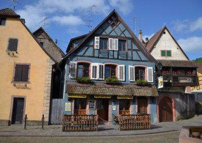 Bar Saint Ulrich, Place de la Republique, Ribeuvillè - Diario di viaggio in Alsazia