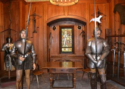 Interni Castello di Haut, Koenigsbourg - Diario di viaggio in Alsazia