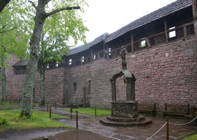 Castello di Haut, Koenigsbourg - Diario di viaggio in Alsazia