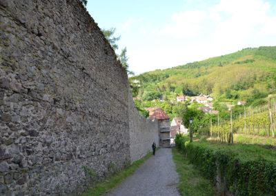 Mura di cinta esterne, Ribeauvillè - Diario di viaggio in Alsazia