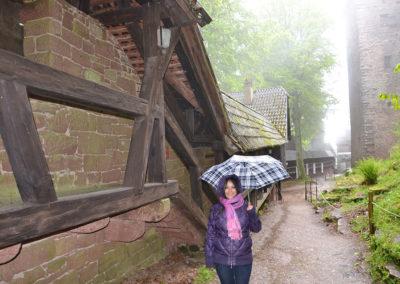 astello di Haut, Koenigsbourg - Diario di viaggio in Alsazia