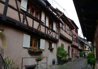 Rue du Rempart, Eguisheim - Diario di viaggio in Alsazia