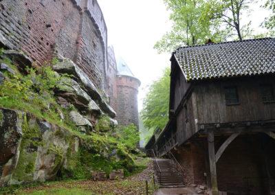 -Castello di Haut, Koenigsbourg - Diario di viaggio in Alsazia