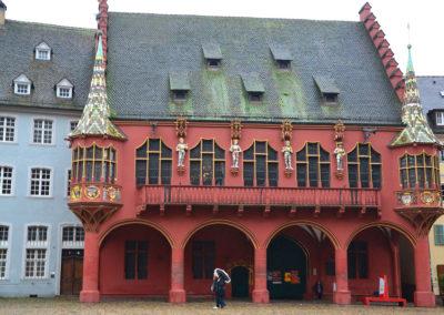 Kaufhaus, Friburgo in Brisgovia -Diario di viaggio in Alsazia