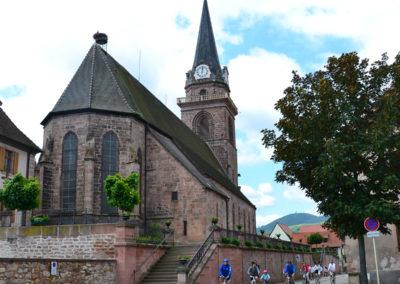 Presbytere Catholique, Bergheim - Diario di viaggio in Alsazia