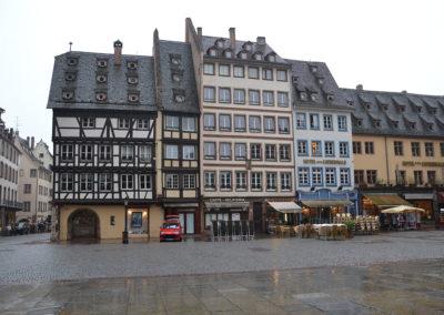 Place de la Cathedrale -Diario di viaggio in Alsazia