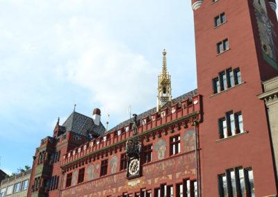 Rathaus Basler, Basilea - Diario di vaiggio in Alsazia