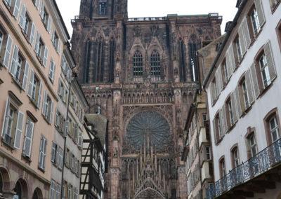 Rue Merciere e Cattedrale di Strasburgo -Diario di viaggio in Alsazia
