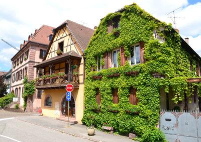 Maisons a Bergheim - Diario di viaggio in Alsazia